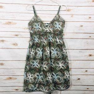 Carve designs spaghetti strap elastic waist dress